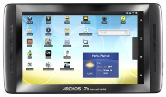 Планшет Archos 70 internet tablet