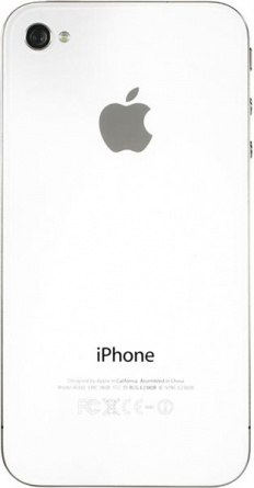 Apple iPhone 4 32Gb White фото 4