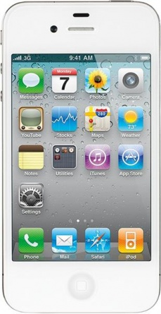 Apple iPhone 4 32Gb White фото 1